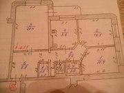 Продаётся!!! 3-х комнатная квартира! ул. Косарева 13.,  72.6 кв.м