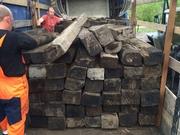 Шпалы деревянные оптом в Саранске